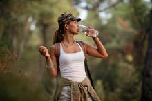 Young Woman Having Water Break...