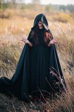A Girl In A Black Dress, A Clo...