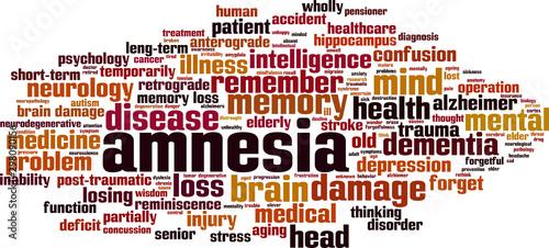 Photo Amnesia word cloud