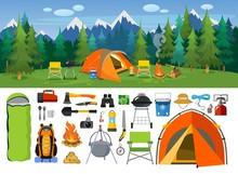 Camping Supplies, Tools And Eq...