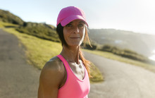 Fitness Woman Training Outdoors