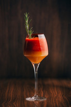 Red And Orange Cocktail