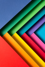 Colorful Triangle Material Pap...