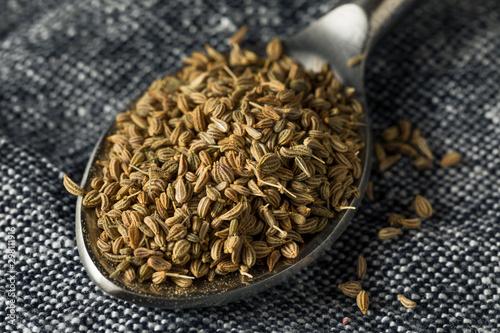 Raw Brown Organic  Ajwain Seed