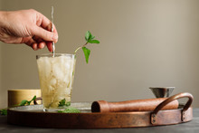 Mixing Cocktail