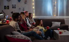 Movies Night - Group Of Friend...