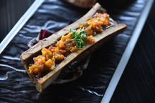 Close Up Of Grilled Vegetables...