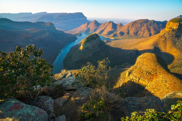 three rondavels and blyde river canyon at sunset, south africa 26