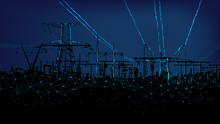 Electric Towers Polygonal. Con...