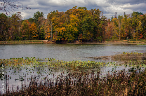 Fotografie, Obraz Kendall Lake in the Cuyahoga Valley National Park