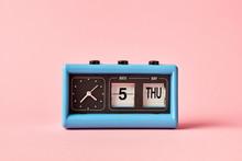 Flip Clock With Date Calendar ...