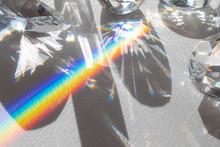 Cut Glass And Rainbow