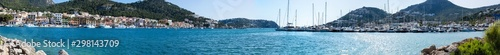 Foto op Canvas Pool Bay and harbor Port de Andratx, Mallorca, Spain