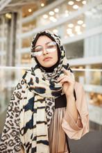 Fashion Portrait Of Gorgeous Arabic Woman