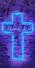 Neon Religion Glitch