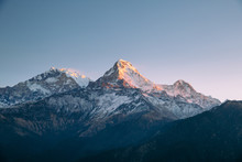 The Annapurna Range In The Him...
