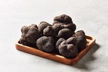 Heap Of Delicious Black Truffles