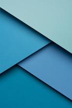 Blue Geometric Shapes. Materia...