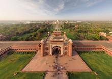 Aerial View Of Taj Mahal
