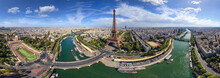 Panoramic Aerial View Of The E...