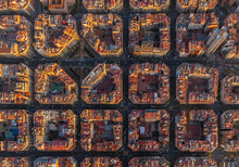 Aerial View Of Barcelona Super...