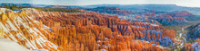 Aerial View Of Bryce Canyon During The Sunset, USA