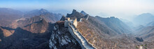 Aerial View Of The Great Wall ...