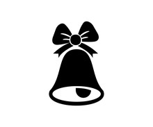 Christmas Bell Icon Design
