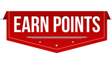 Earn Points Banner Design