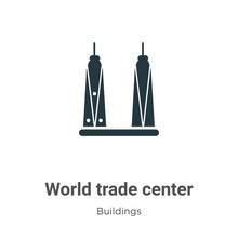 World Trade Center Vector Icon...