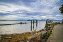 Lake Champlain View From Burlington Harbor