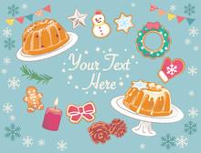 Christmas Bundt Cakes And Deco...