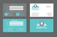 Dentist Business Card Template Set