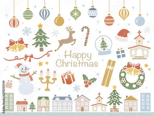 Christmas set Wallpaper Mural
