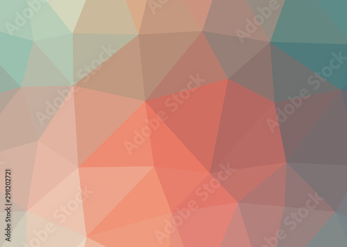 skyfall theme abstract background triangles trianglify colorful beautiful simple Canvas Print
