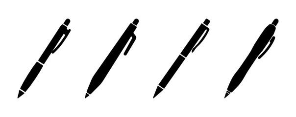 długopis zestaw ikon