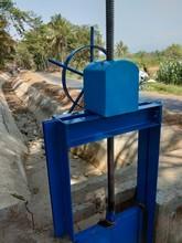 River Water Flow Regulators In Irrigation Dams