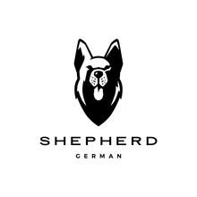German Shepherd Head Dog Logo ...