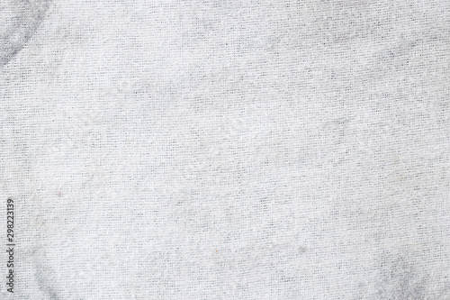 Keuken foto achterwand Stof Grunge dirty cotton fabric texture and background