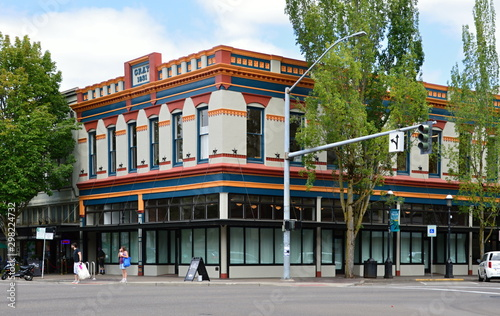 Foto op Plexiglas Oude gebouw Salem, Oregon