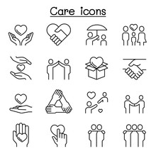 Care, Kindness, Generous Icon ...