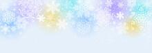 雪の結晶 ブルーパス...