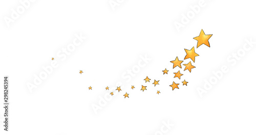 Collection of stars style sketch cartoon watercolor. - 298245394