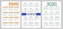 Set Vertical Pocket Calendar, ...