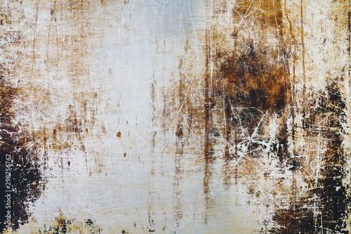 Grunge metal texture background backdrop Fototapet