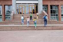 Group Of Schoolchildren.