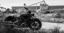 B/W Indian Scout