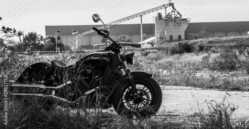 Photo B/W Indian Scout