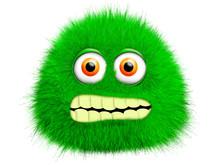 Green Furry Monster