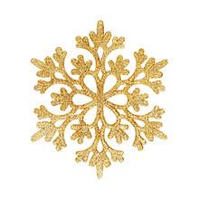 Decorative Christmas Snowflake Isolated